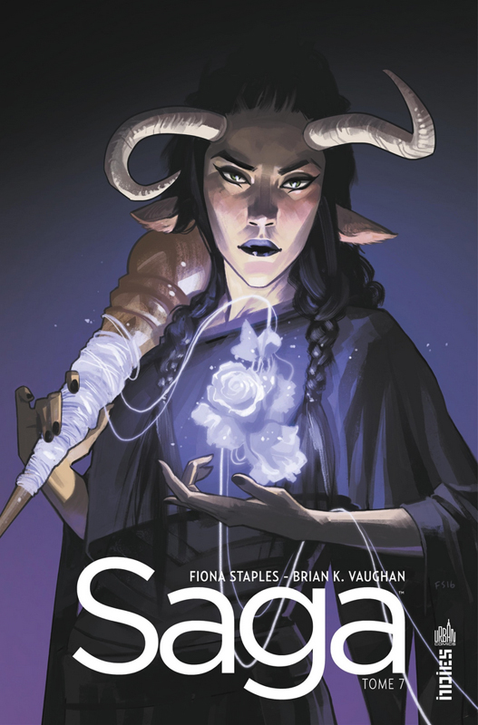 Saga T7, comics chez Urban Comics de Vaughan, Staples