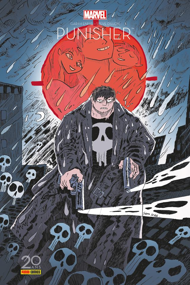 The Punisher : Edition 20 ans (0), comics chez Panini Comics de Ennis, Dillon, Sotomayor, Sfar