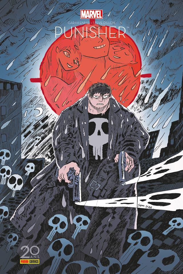 The Punisher : Edition 20 ans (0), comics chez Panini Comics de Ennis, Dillon, Sotomayor, Sfar