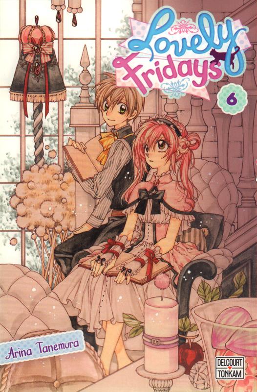 Lovely Fridays T6, manga chez Delcourt Tonkam de Tanemura