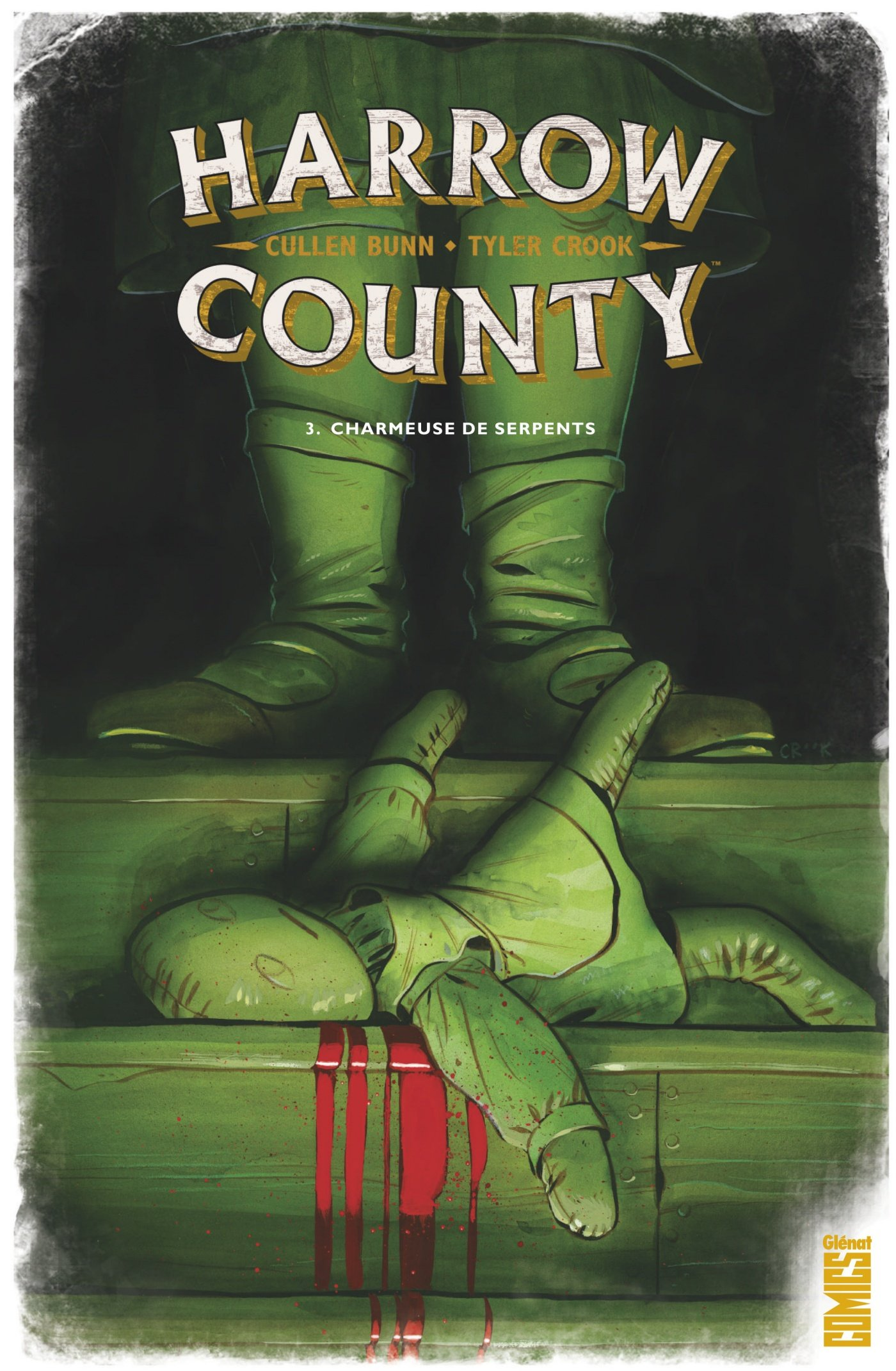 Harrow County T3 : Charmeuse de serpents (0), comics chez Glénat de Bunn, Crook, Speed McNeil, Christenson, Manley Lee