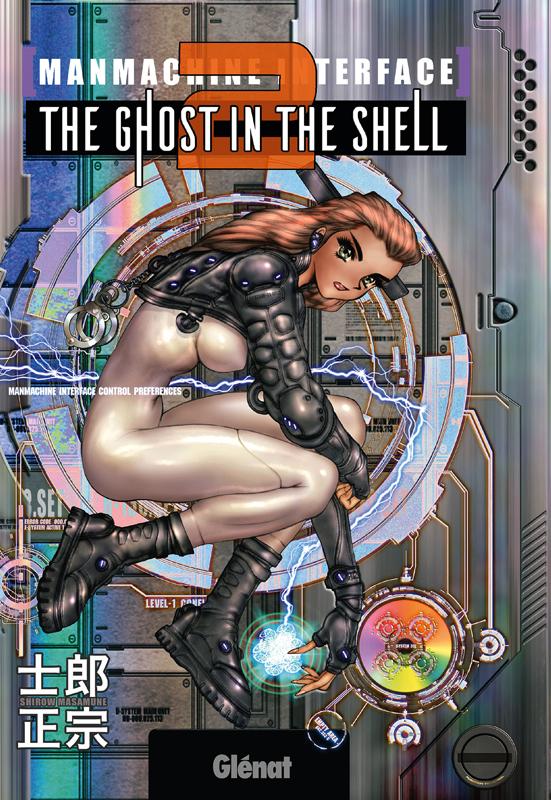 The ghost in the shell T2, manga chez Glénat de Shirow