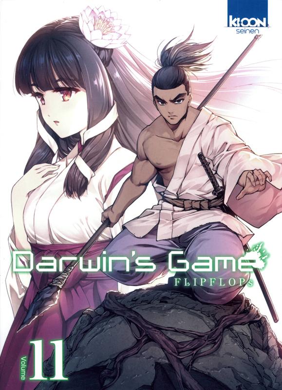 Darwin's game T11, manga chez Ki-oon de FLIPFLOPs
