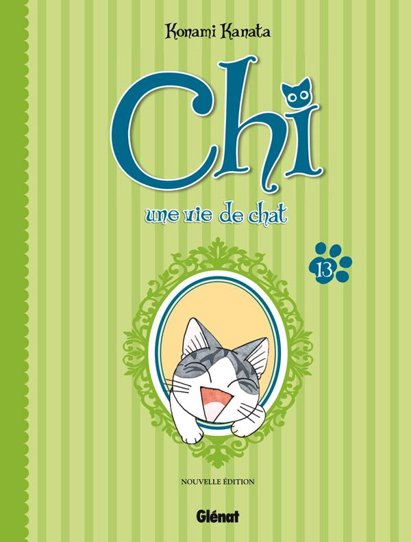 Chi - une vie de chat (format BD) T13, bd chez Glénat de Konami