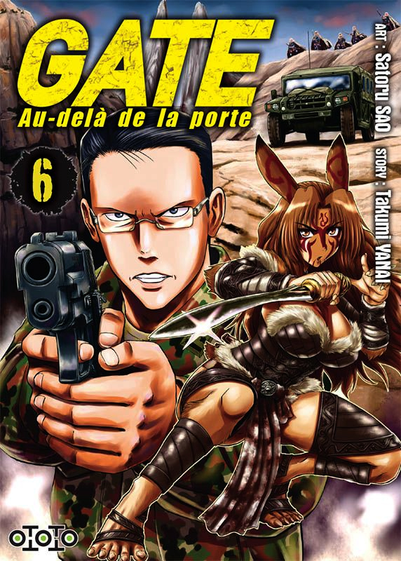 Gate - Au-delà de la porte T6, manga chez Ototo de Yanai, Sao