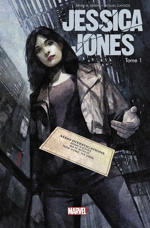 Jessica Jones T1 : Sans Cage (0), comics chez Panini Comics de Bendis, Gaydos, Hollingsworth, Maleev