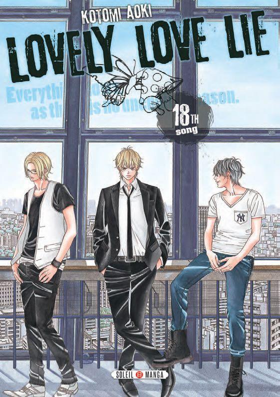 Lovely love lie T18, manga chez Soleil de Aoki