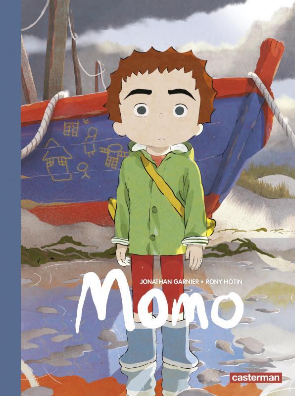 Momo T2, bd chez Casterman de Hotin, Garnier