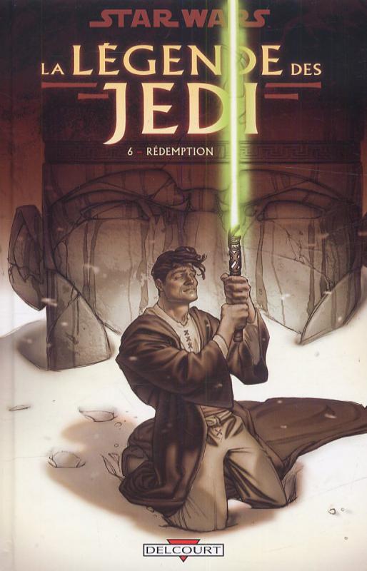 Star Wars - La légende des Jedi T6 : Rédemption (0), comics chez Delcourt de Anderson, Gossett, Rambo, Maleev