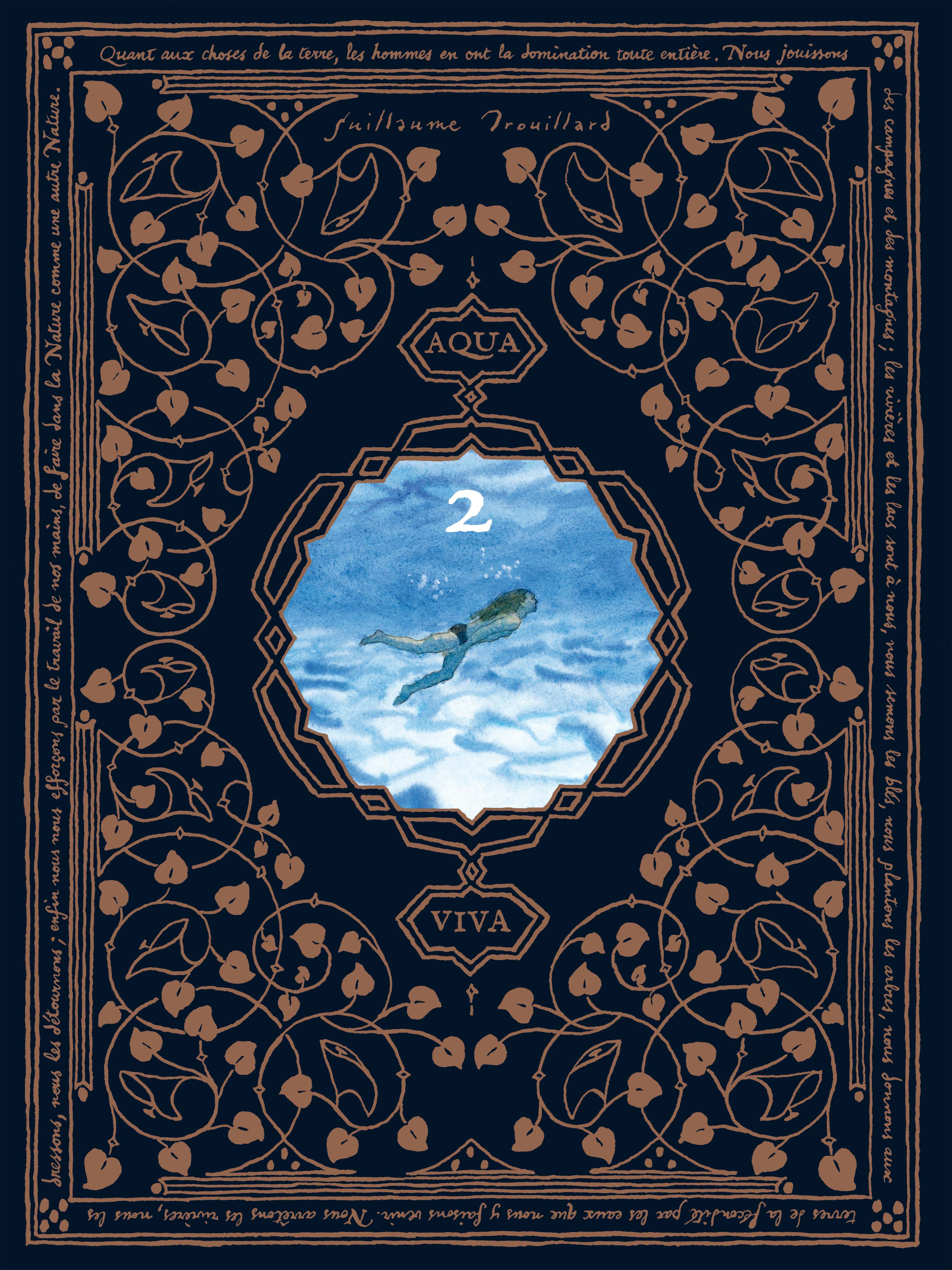 Aquaviva T2, bd chez Editions de la Cerise de Trouillard
