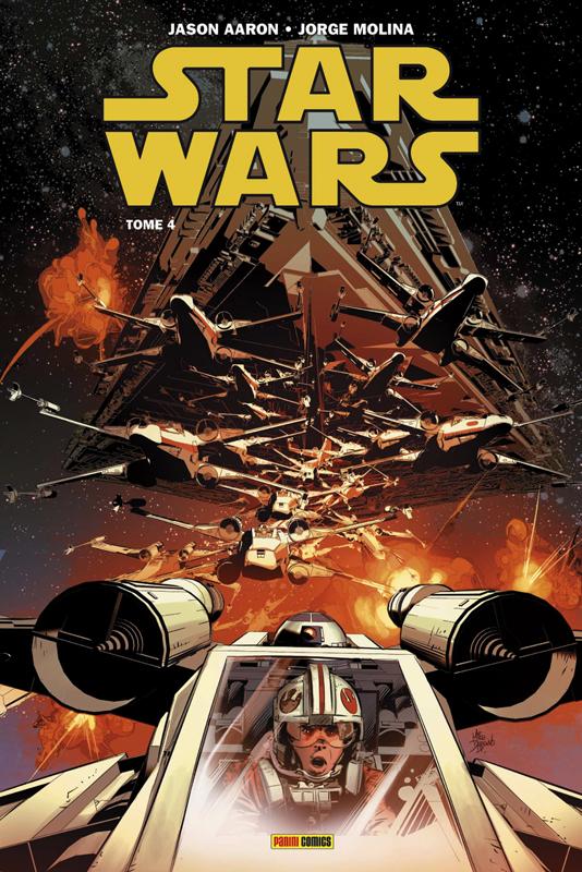 Star Wars T4 : Le dernier vol du Harbinger (0), comics chez Panini Comics de Eliopolous, Aaron, Molina, Milla, Bellaire, Deodato Jr