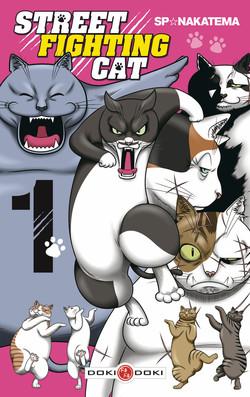Street fighting cat T1, manga chez Bamboo de Nakatema