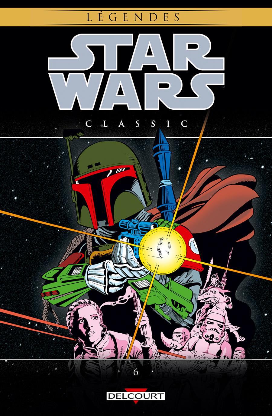 Star Wars Classic T6, comics chez Delcourt de Fleisher, Duffy, Michelinie, Stevenson, Simonson, D.B. Studios, Brozomski, Macsombol, Palmer, Infantino, Day, Gammill, Frenz, Roussos, Wein, Coletta