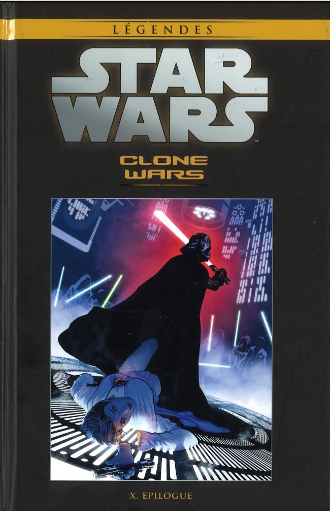 Star Wars Légendes T35 : Clone Wars - 10 - Epilogue (0), comics chez Hachette de Ostrander, Hartley, Wheatley, Duursema, Anderson, Chuckry, Hughes