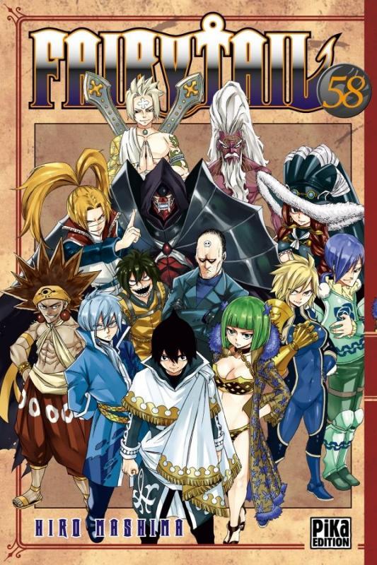 Fairy Tail T58, manga chez Pika de Mashima