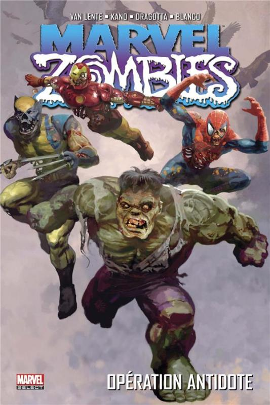 Marvel Zombies T3 : Opération antidote (0), comics chez Panini Comics de Van Lente, Maberry, Wellington, Grahame-smith, Kaluta, Dragotta, Ruiz, Mutti, Elson, Blanco, Brunner, Kano, Alexander, Alves, Loughridge, Chung, Guru efx, Milla, Staples, Suydam