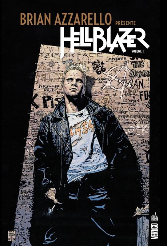 Brian Azzarello présente Hellblazer T2, comics chez Urban Comics de Azzarello, Grampa, Stewart, Davis, Camuncoli, Frusin, Sinclair, Loughridge, Penna, Zylonol, Bradstreet