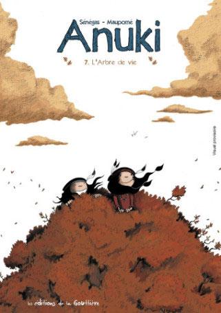 Anuki T7 : L'arbre de vie (0), bd chez Editions de la Gouttière de Maupomé, Sénégas