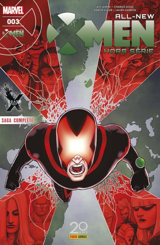 All-New X-Men - Hors série T3 : Mort sous X (0), comics chez Panini Comics de Soule, Lemire, Garron, Kuder, Hollowell, Crossley, Quintana, Keith, Milla, Ramos