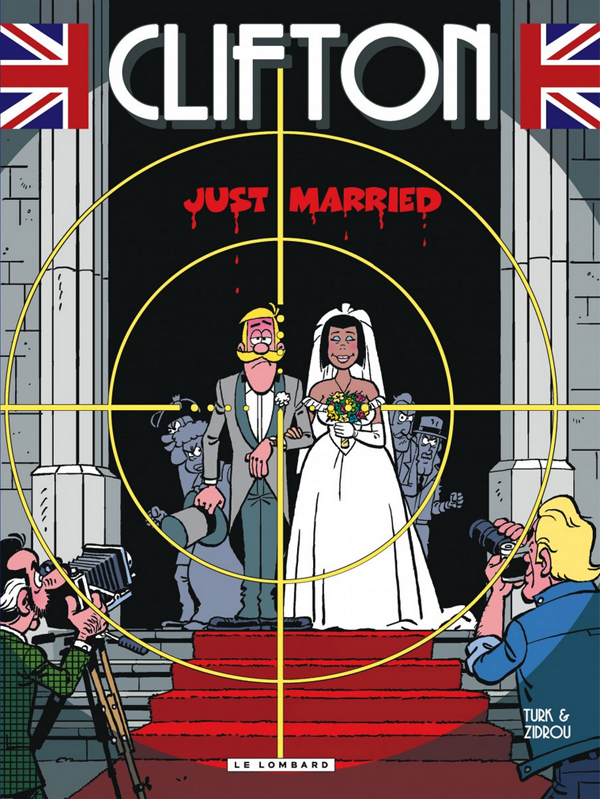 Clifton T23 : Just married (0), bd chez Le Lombard de Zidrou, Turk, Kael