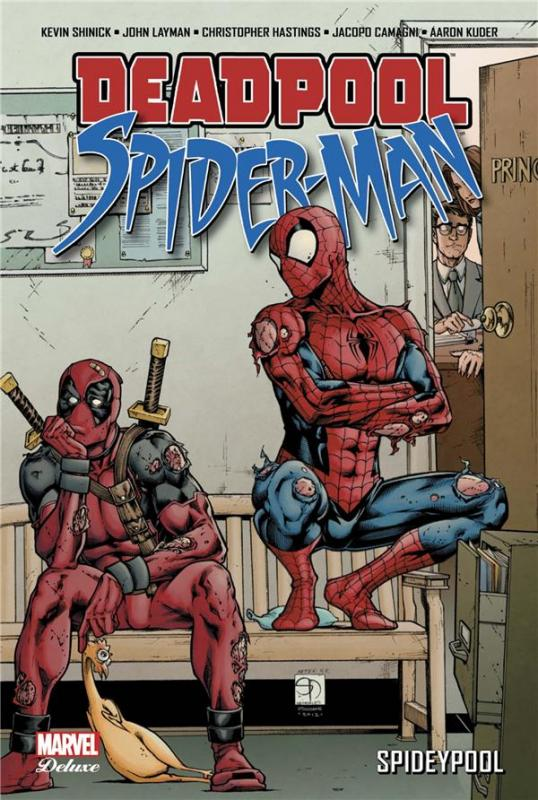 Deadpool / Spider-Man : Spideypool (0), comics chez Panini Comics de Hastings, Layman, Shinick, Camagni, Barrionuevo, Garbett, Kuder, Doe, Hollingsworth, Milla, d' Auria, Davis