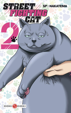 Street fighting cat T2, manga chez Bamboo de Nakatema