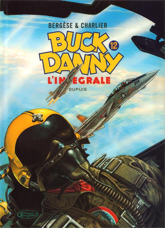 Buck Danny T12 : 1983-1989 (0), bd chez Dupuis de Charlier, Bergèse