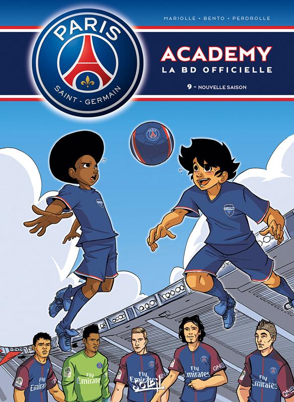 PSG academy T9 : Nouvelle saison (0), bd chez Soleil de Mariolle, Bento, Perdrolle