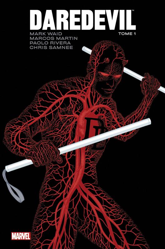 Daredevil - par Mark Waid T1, comics chez Panini Comics de Waid, Checchetto, Pham, Rivera, Allred, Rios, Samnee, Kano, Martin, Hollingsworth, Allred, Vicente, Rodriguez