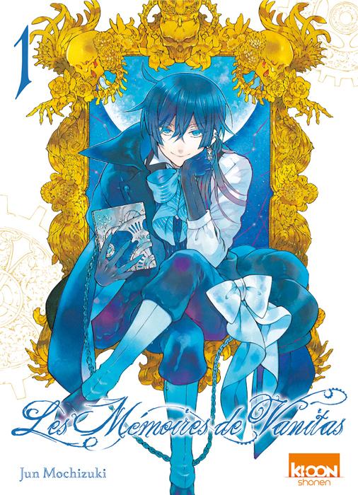 Les mémoires de Vanitas  T1, manga chez Ki-oon de Mochizuki