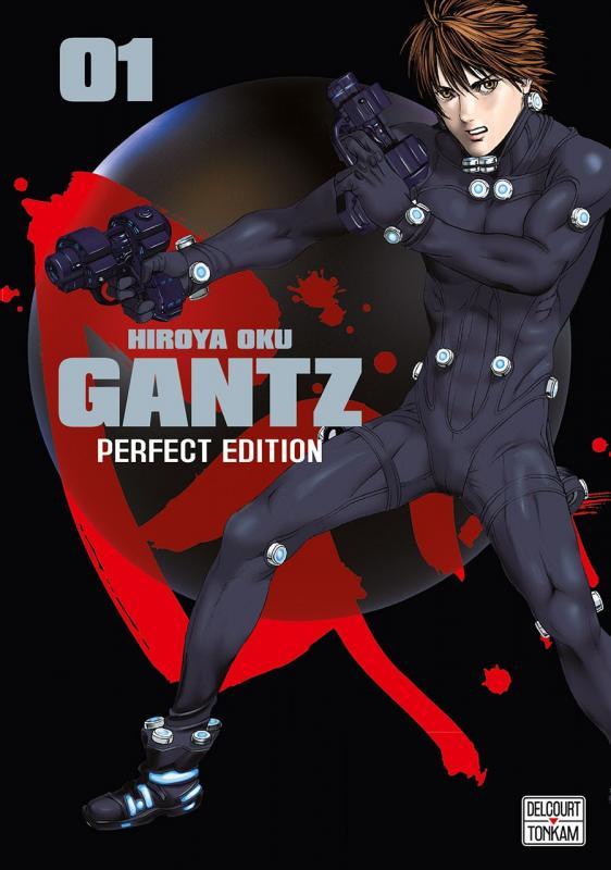 Gantz – Perfect edition, T1, manga chez Delcourt Tonkam de Oku