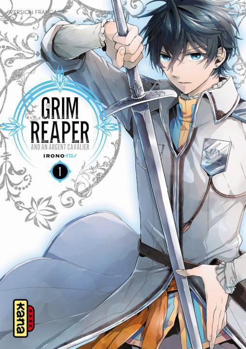 The grim reaper and an argent cavalier T1, manga chez Kana de Irono