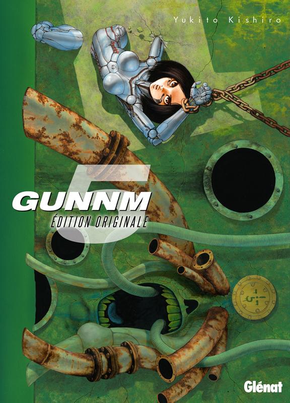 Gunnm Edition originale  T5, manga chez Glénat de Kishiro