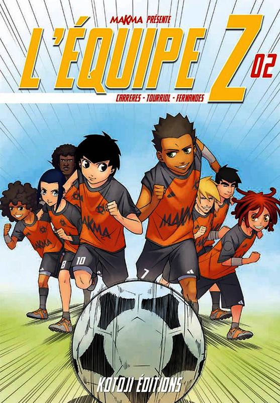 L'équipe Z T2, manga chez Kotoji de Fernandes, Tourriol, Albert Cg