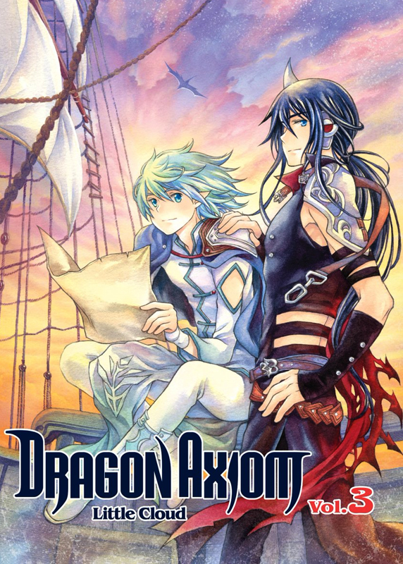 Dragon axiom T3, manga chez Kotoji de Little cloud