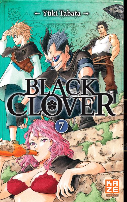 Black clover T7, manga chez Kazé manga de Tabata