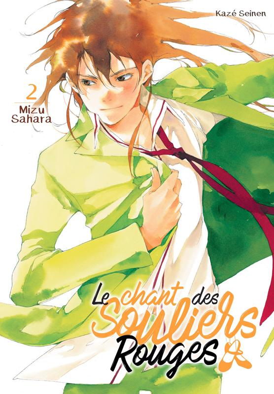 Le chant des souliers rouges T2, manga chez Kazé manga de Sahara