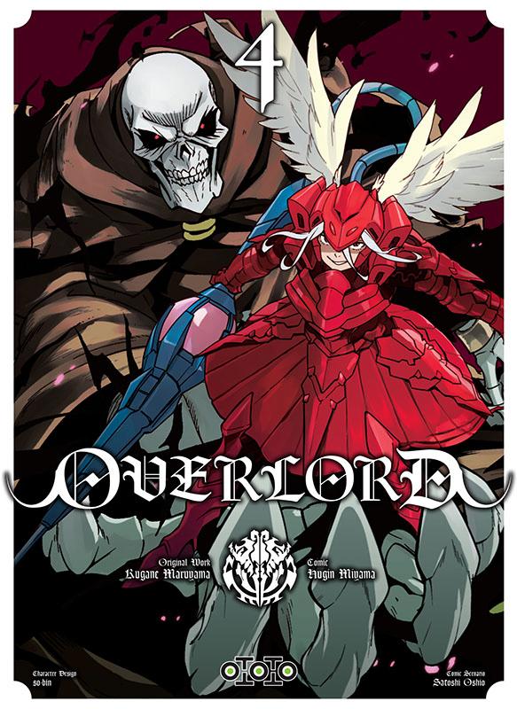 Overlord T4, manga chez Ototo de Maruyama, Miyama
