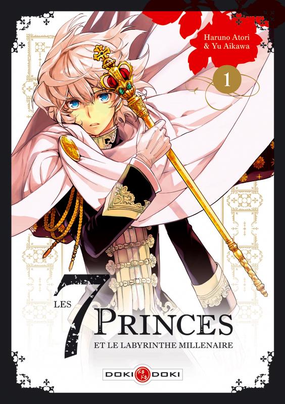 Les 7 princes et le labyrinthe millénaire  T1, manga chez Bamboo de Aikawa, Atori
