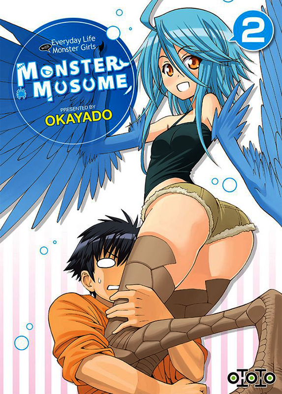Monster musume T2, manga chez Ototo de Okayado