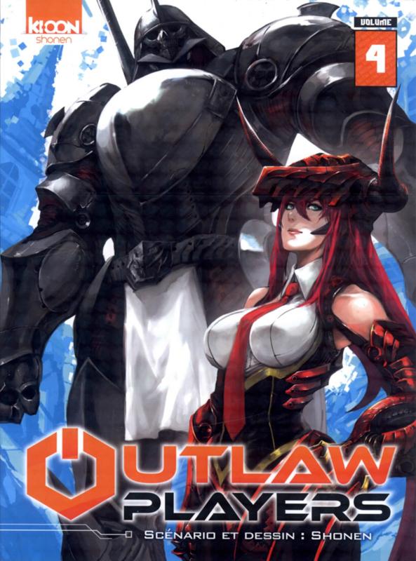 Outlaw Players T4, manga chez Ki-oon de Shonen