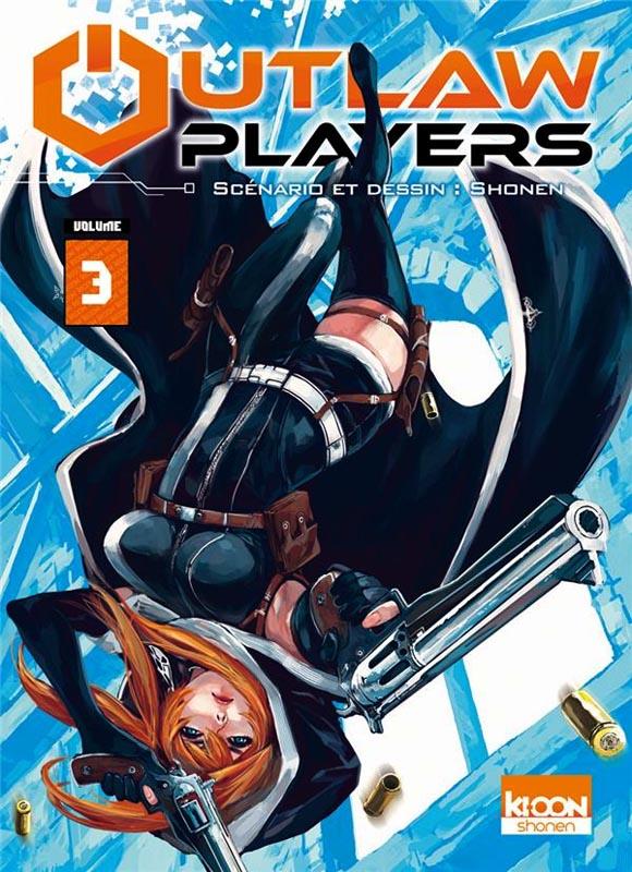 Outlaw Players T3, manga chez Ki-oon de Shonen