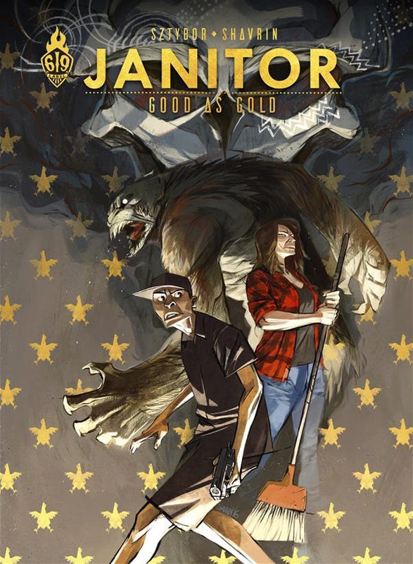 Janitor : Good as gold (0), bd chez Ankama de Sztybor, Shavrin