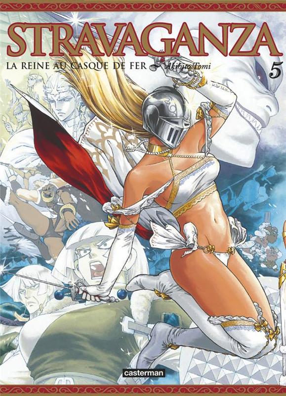 Stravaganza - La reine au casque de fer T5, manga chez Casterman de Tomi