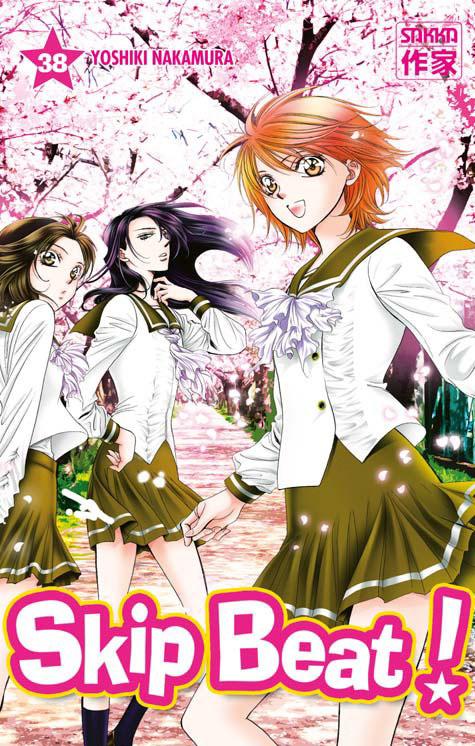 Skip beat ! T38, manga chez Casterman de Nakamura