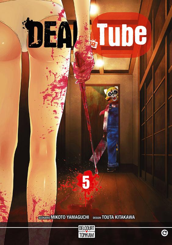 Dead tube T5, manga chez Delcourt Tonkam de Yamaguchi, Kitakawa