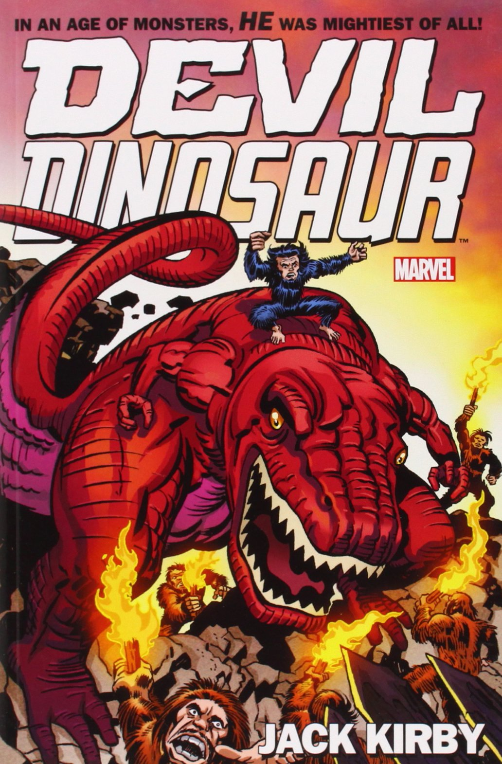 Devil Dinosaur, comics chez Marvel de Kirby, Goldberg, Royer, Roussos