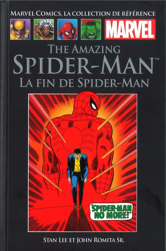 Marvel Comics, la collection de référence – Classic, T8 : The Amazing Spider-Man - La fin de Spider-Man (0), comics chez Hachette de Lee, Romita Sr, Stain, Wein