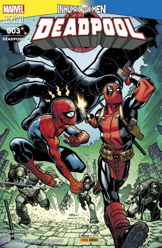 Deadpool (revue) T3 : Montre-nous le matos (0), comics chez Panini Comics de Bunn, Duggan, Kelly, McGuinness, Villanelli, Coello, Lolli, Keith, Guru efx