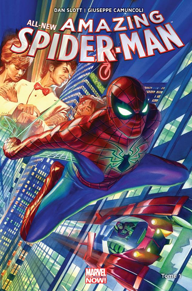 All-New Amazing Spider-Man T1 : Partout dans le monde (0), comics chez Panini Comics de Slott, Camuncoli, Smith, Gracia, Ross